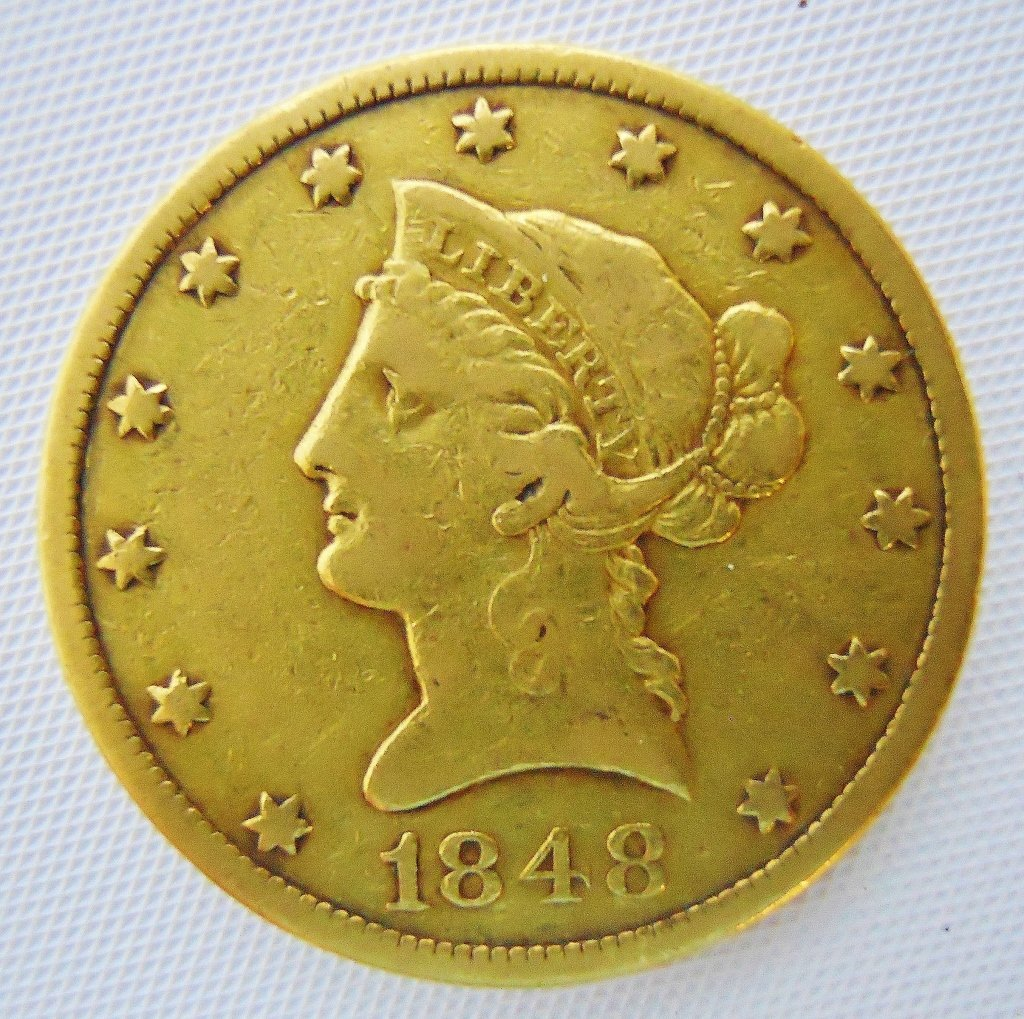 U.S. 1848 Liberty $10 Gold Coin