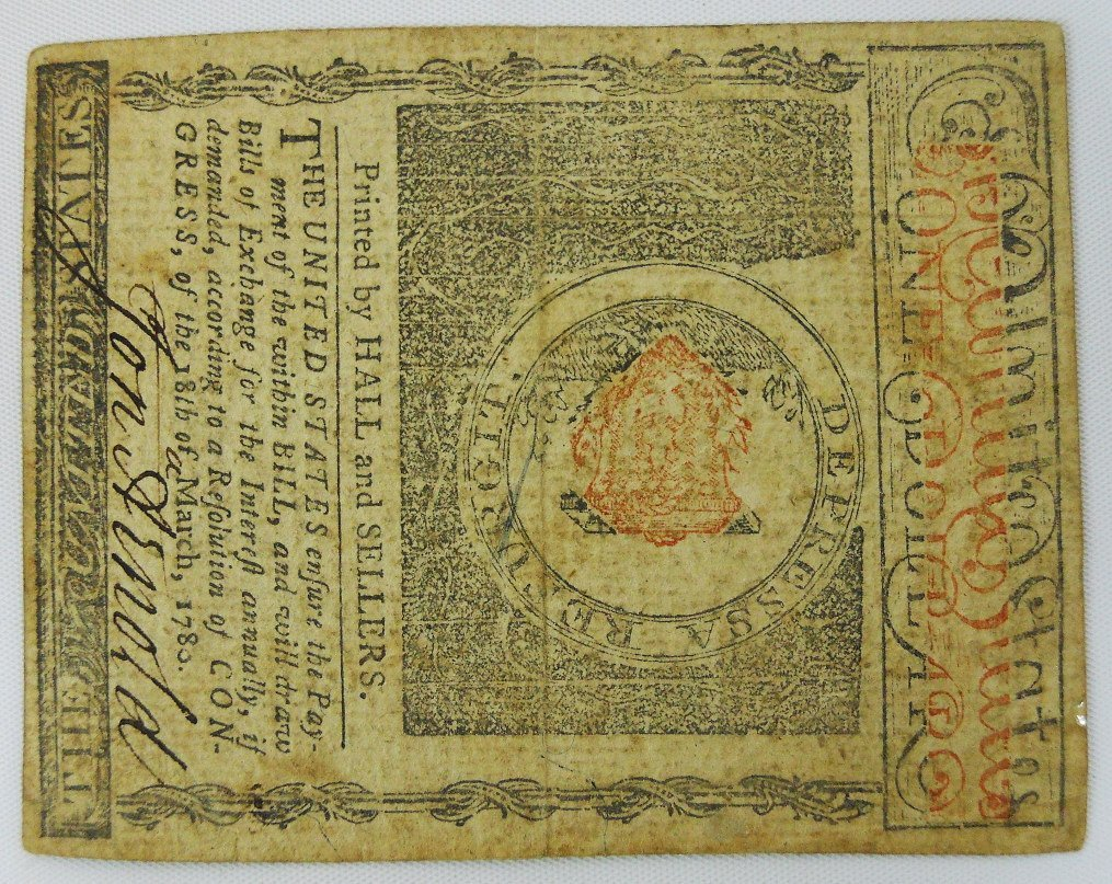 Two 18th C. State of Rhode Island Currency Notes - 3