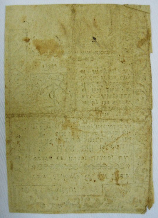 Two 18th C. State of Rhode Island Currency Notes - 5
