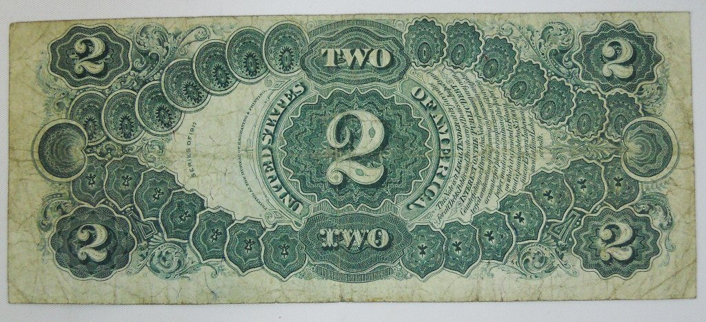 Two $2 Legal Tender Notes, Series of 1917 - 4