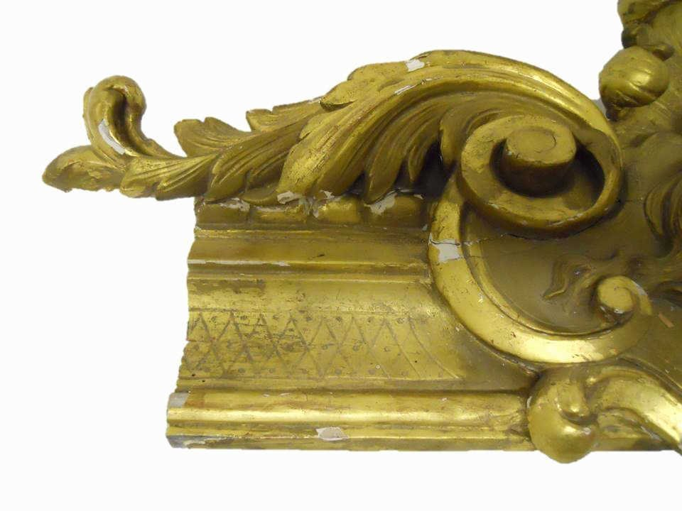 19th C.  French Gilt Wood Architectural Element - 3