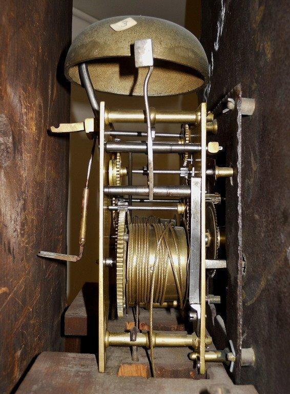 18th C. English Mahogany Cased Tall Clock - 5
