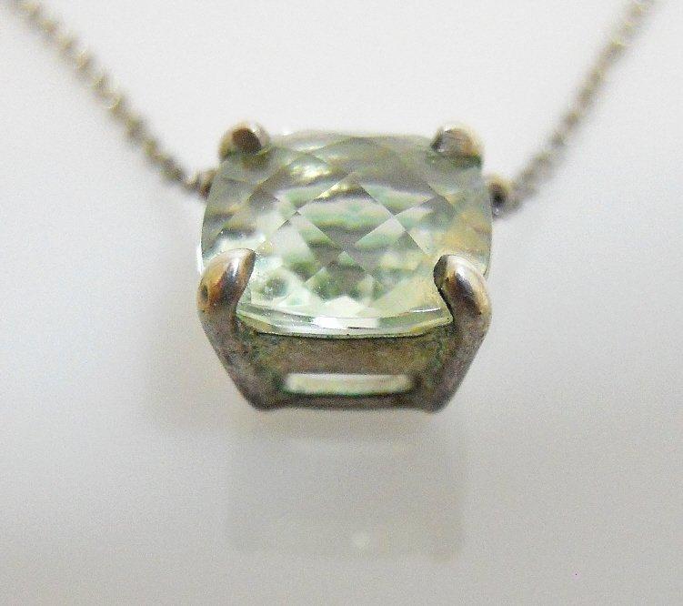Ladies Faceted Aquamarine Necklace, TIFFANY & Co - 2