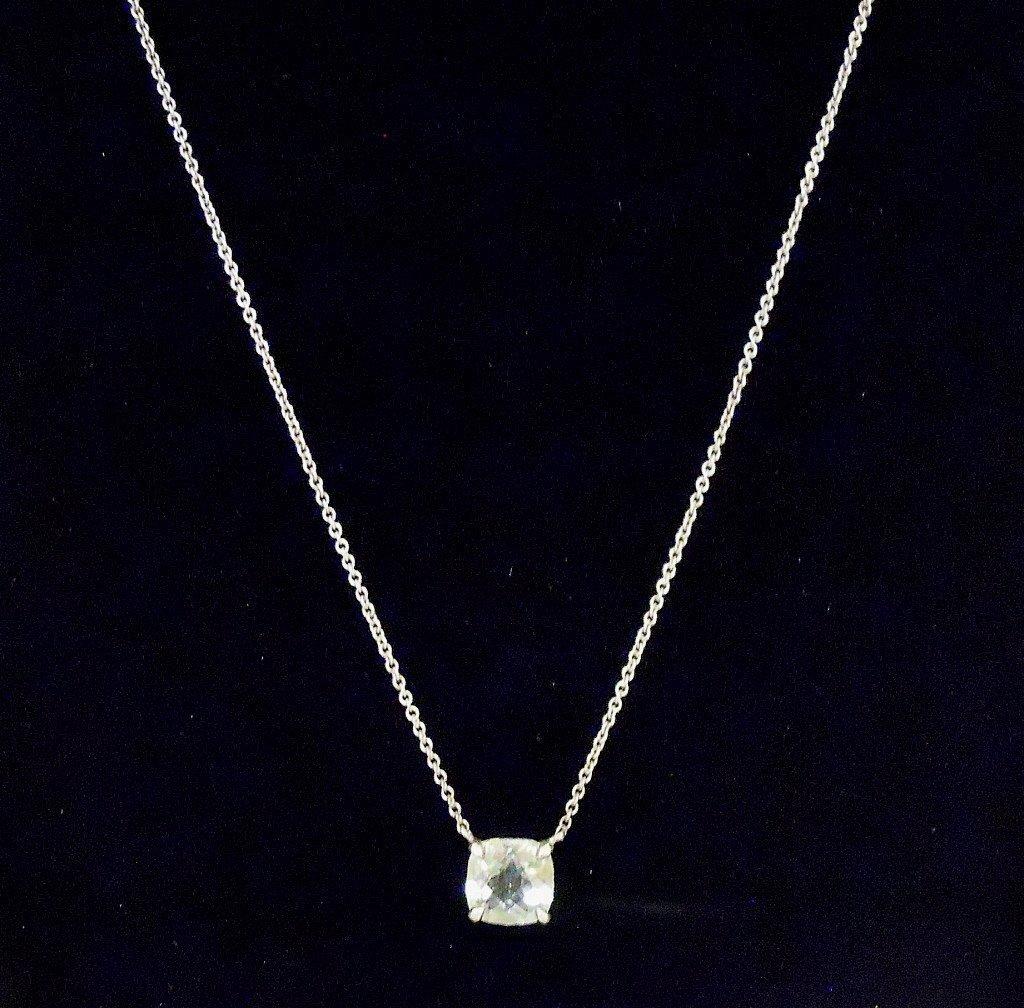 Ladies Faceted Aquamarine Necklace, TIFFANY & Co - 3