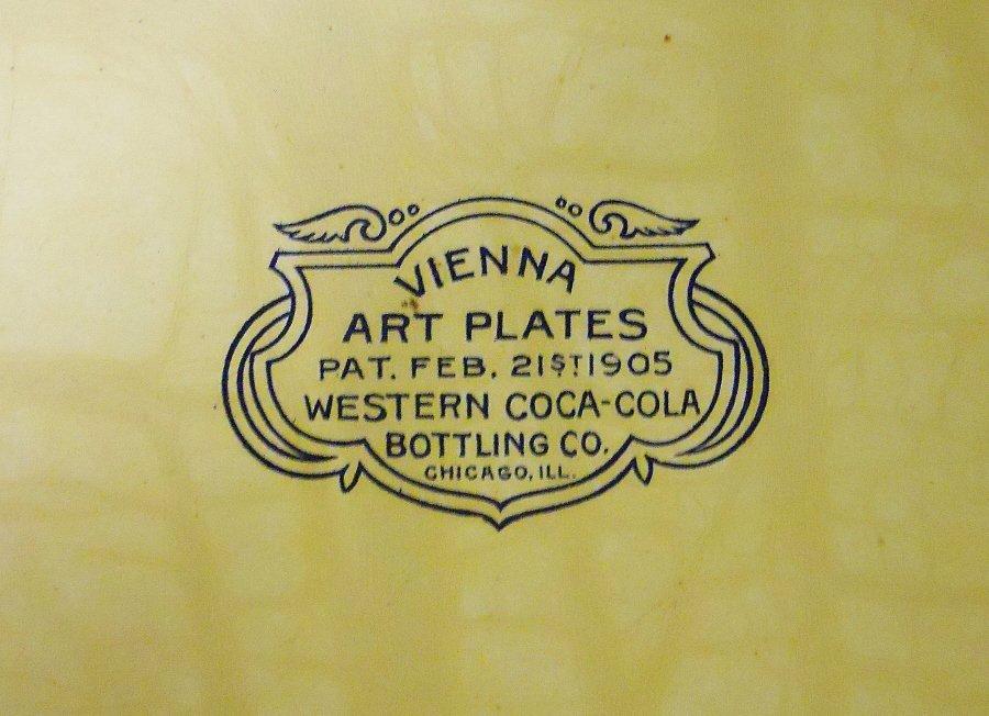 Coca-Cola Vienna Art Plate, Circa 1905-1908 - 4