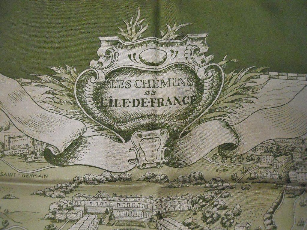 Hermes Le Chemins de L'ile de France Silk Scarf - 2