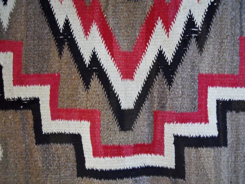 Two Early 20th C. Navajo Weavings - 2