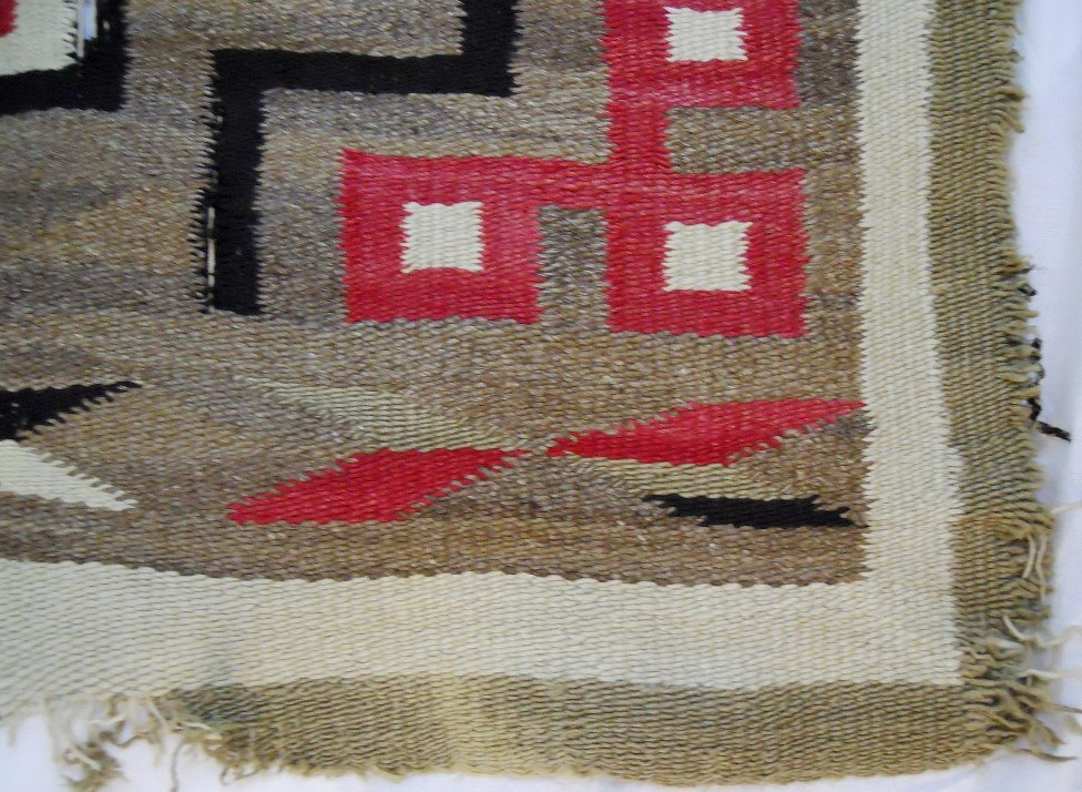 Two Early 20th C. Navajo Weavings - 3