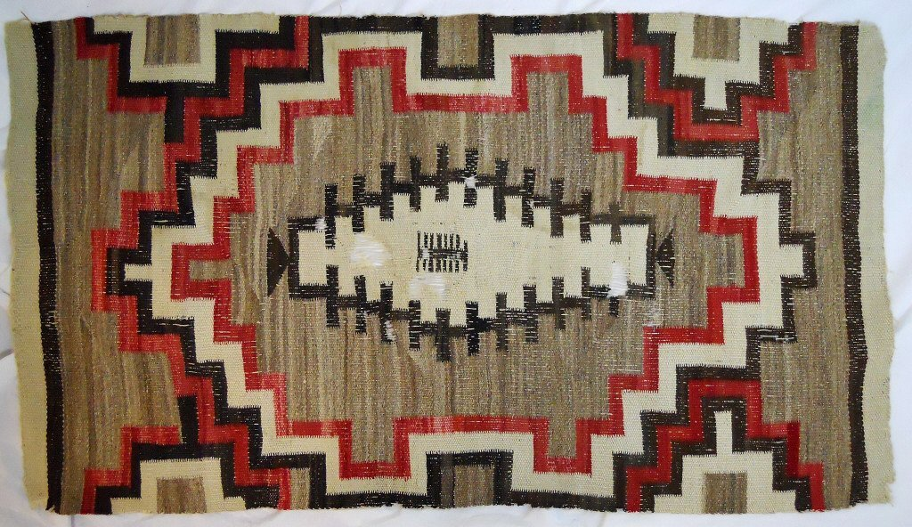Two Early 20th C. Navajo Weavings - 4