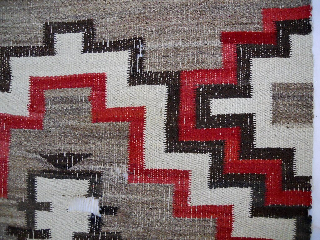 Two Early 20th C. Navajo Weavings - 5