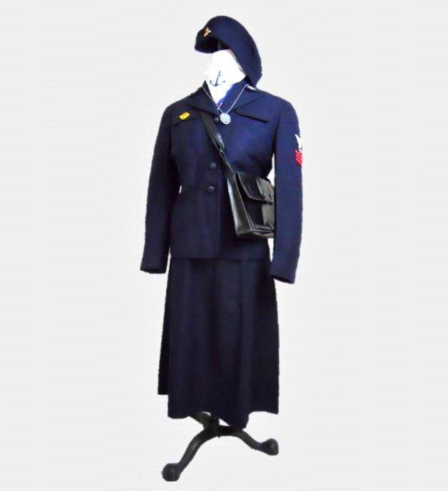 WWII U.S. Navy WAVES Uniform, Named