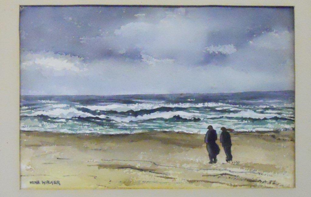Watercolor on paper, Hank Henry Walker (1919-1995) - 2