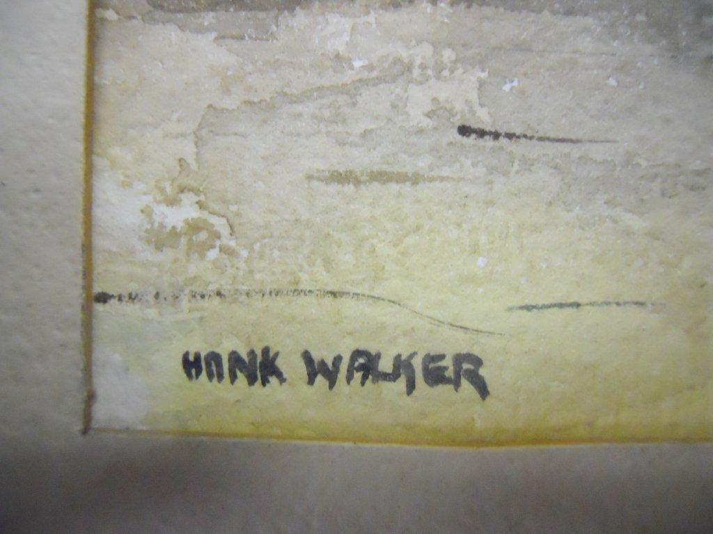 Watercolor on paper, Hank Henry Walker (1919-1995) - 3