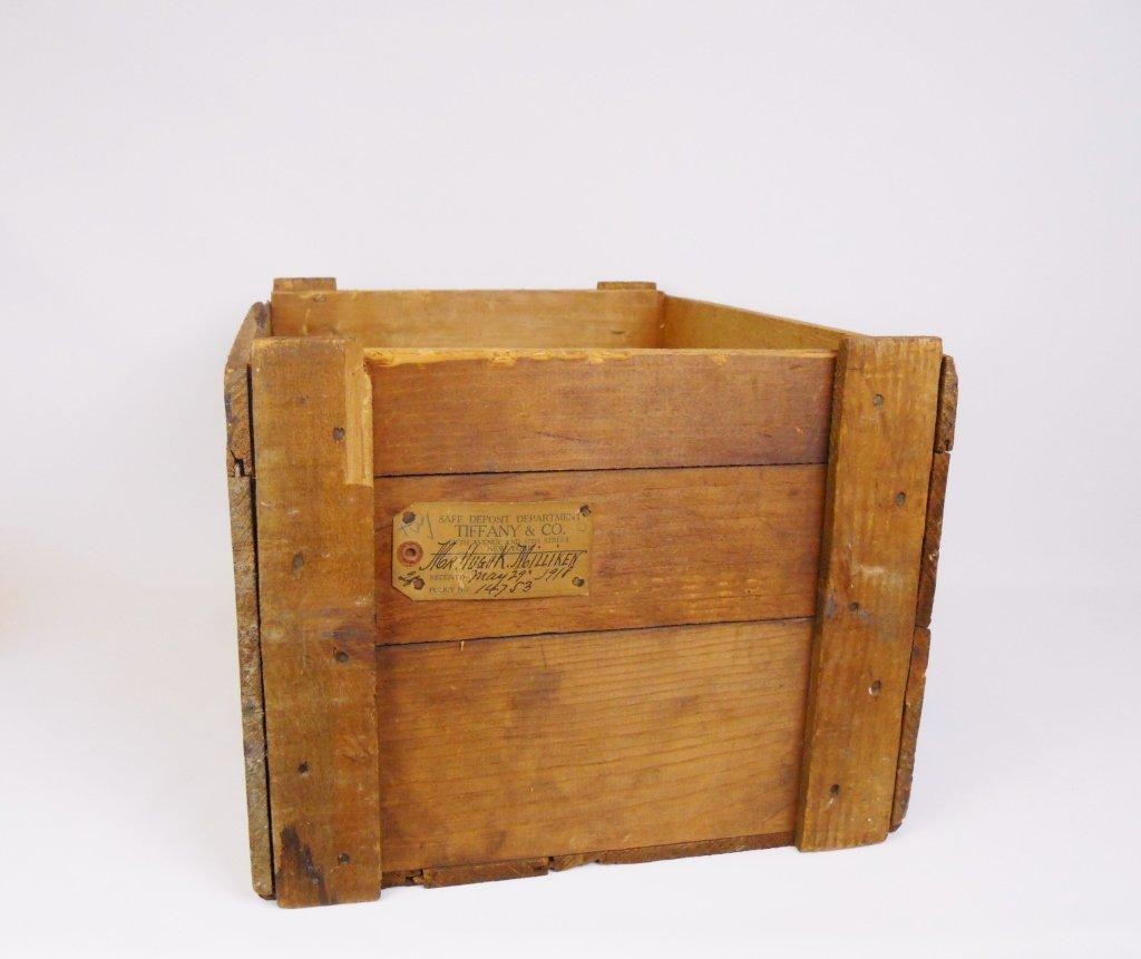 Tiffany & Co. Safe Deposit Dept. Crate, Circa 1918