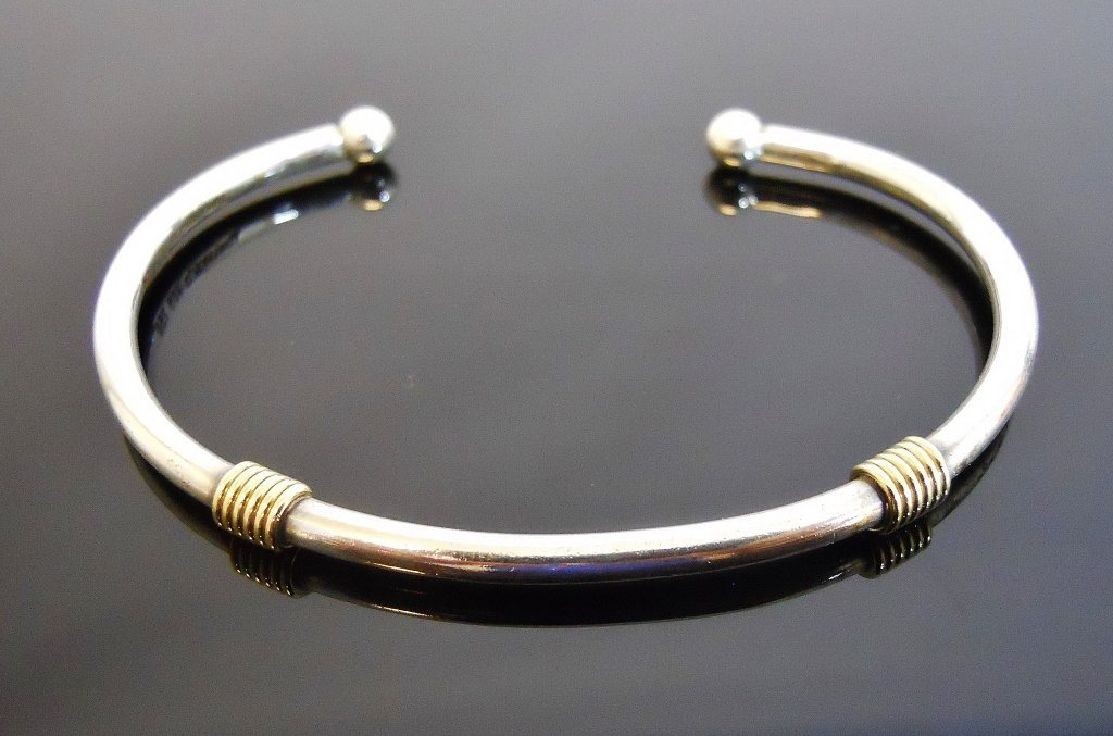 Ladies 18K Gold and Silver Bracelet, TIFFANY & Co.