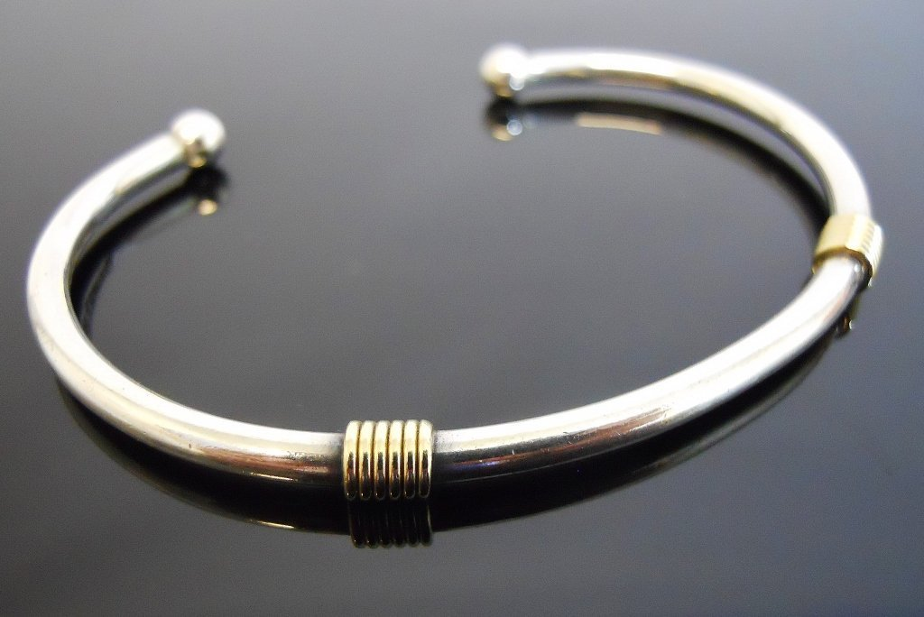 Ladies 18K Gold and Silver Bracelet, TIFFANY & Co. - 2