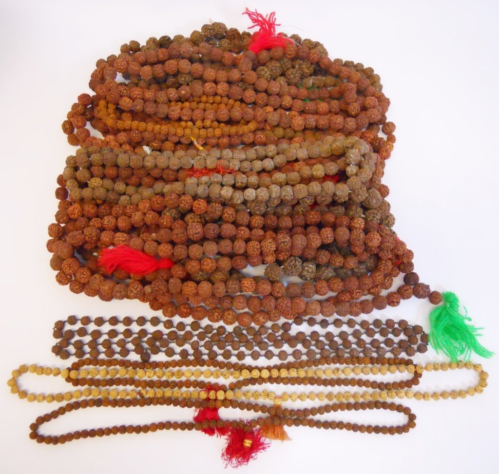 Collection of Hindu Rudraksha Mala (18)