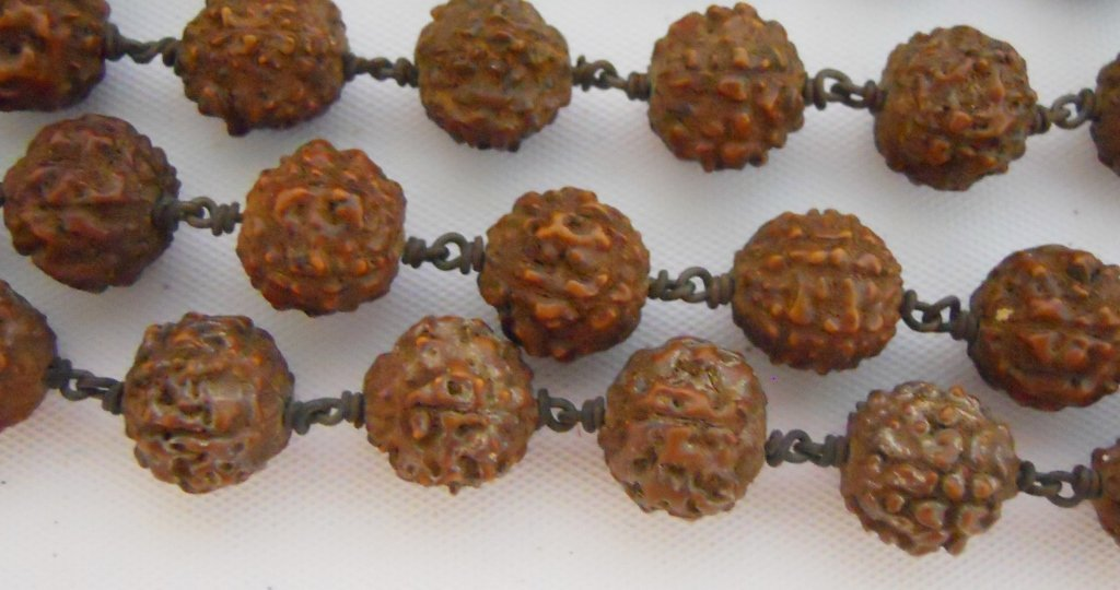 Collection of Hindu Rudraksha Mala (18) - 3