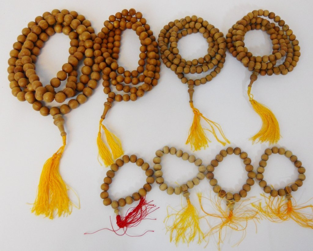 Tibetan Sandalwood Buddhist Mala & Prayer Beads