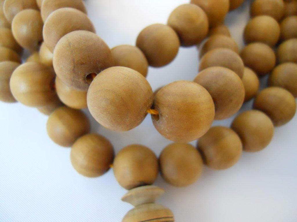 Tibetan Sandalwood Buddhist Mala & Prayer Beads - 2