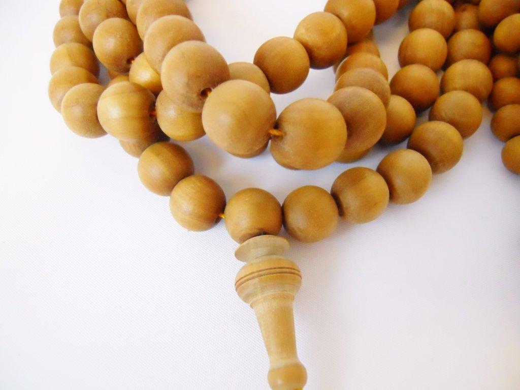 Tibetan Sandalwood Buddhist Mala & Prayer Beads - 3