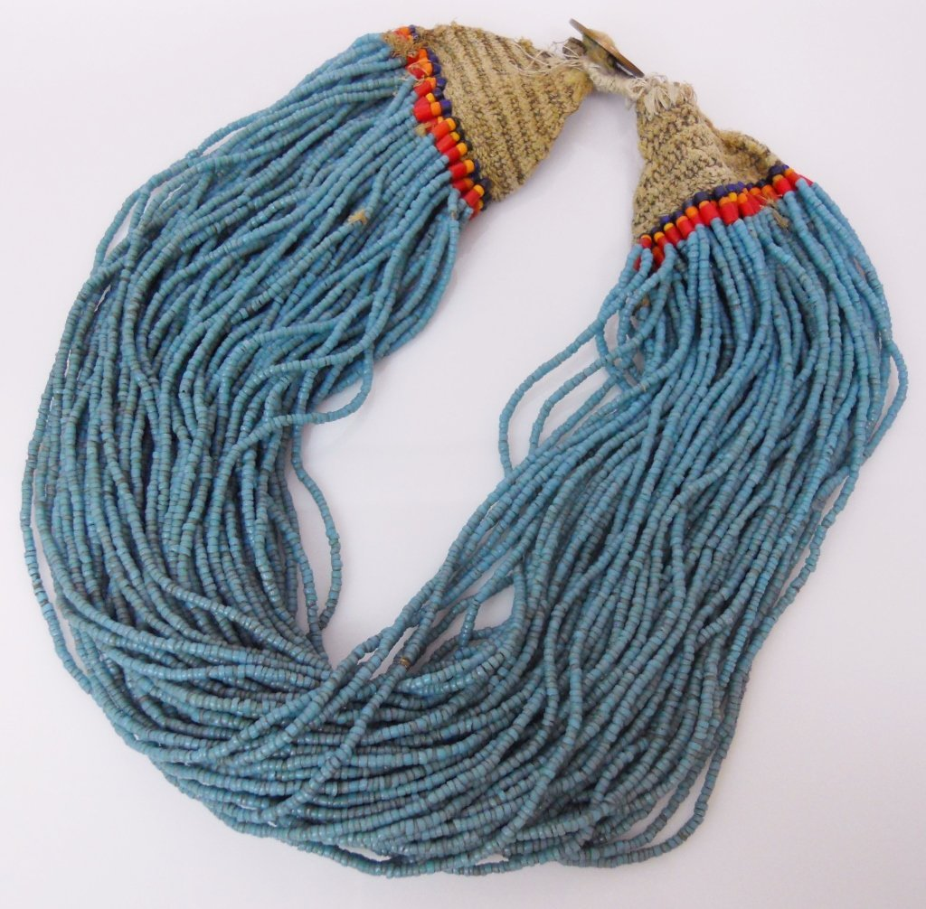 Konyak Naga Glass Bead Necklace