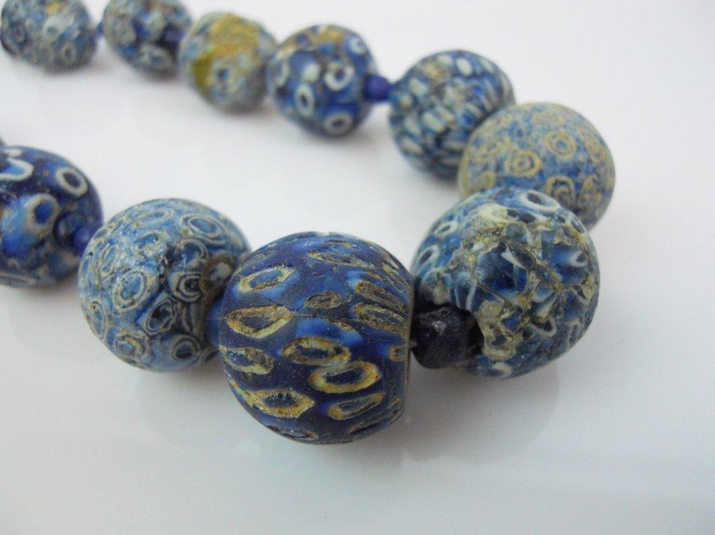 Jatim Glass Eye Bead Necklace - 2