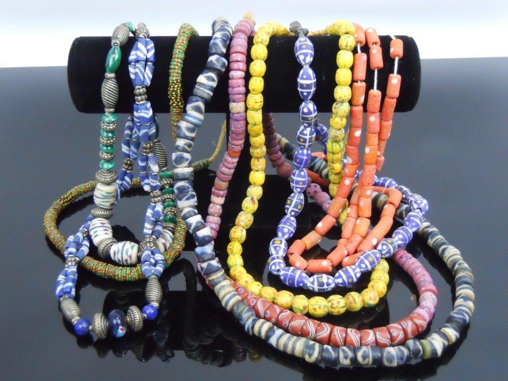 19th C. Venetian Glass African Trade Beads