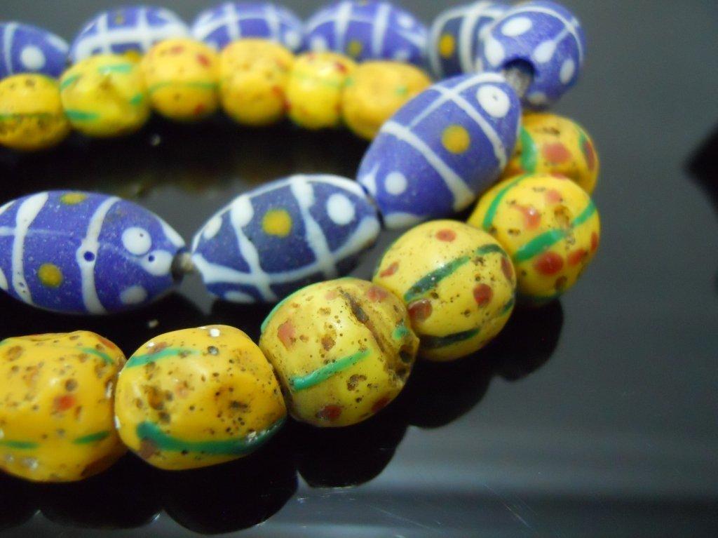 19th C. Venetian Glass African Trade Beads - 4