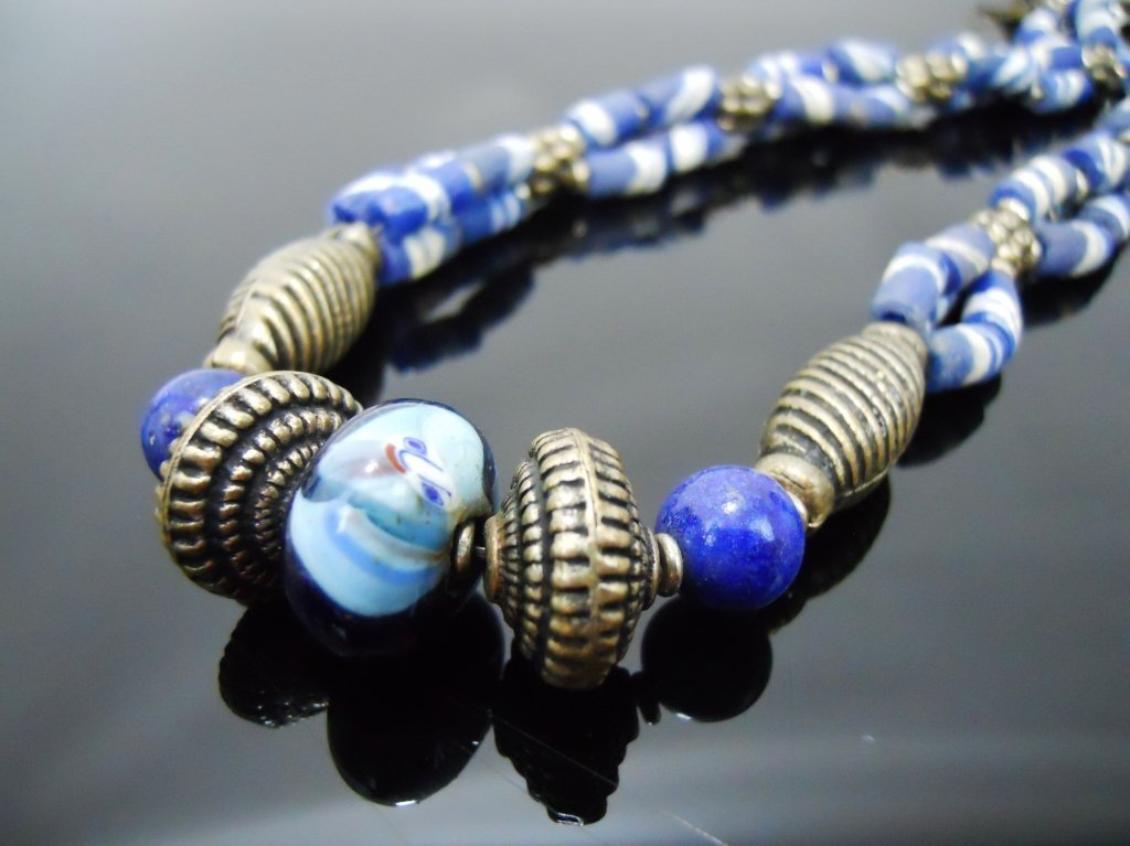 19th C. Venetian Glass African Trade Beads - 5