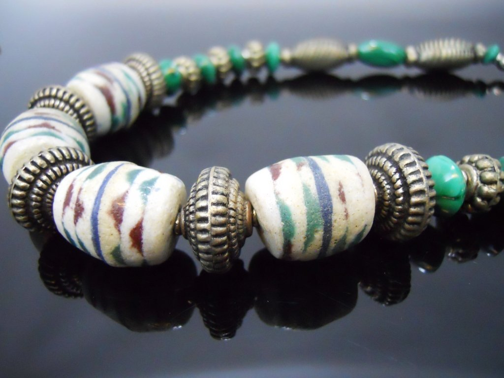 19th C. Venetian Glass African Trade Beads - 6