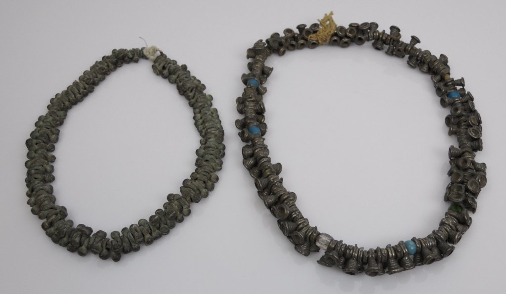 Ancient Medieval and Antique Bronze Beads