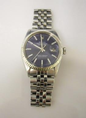 Vintage Mens Rolex Oyster Datejust Watch
