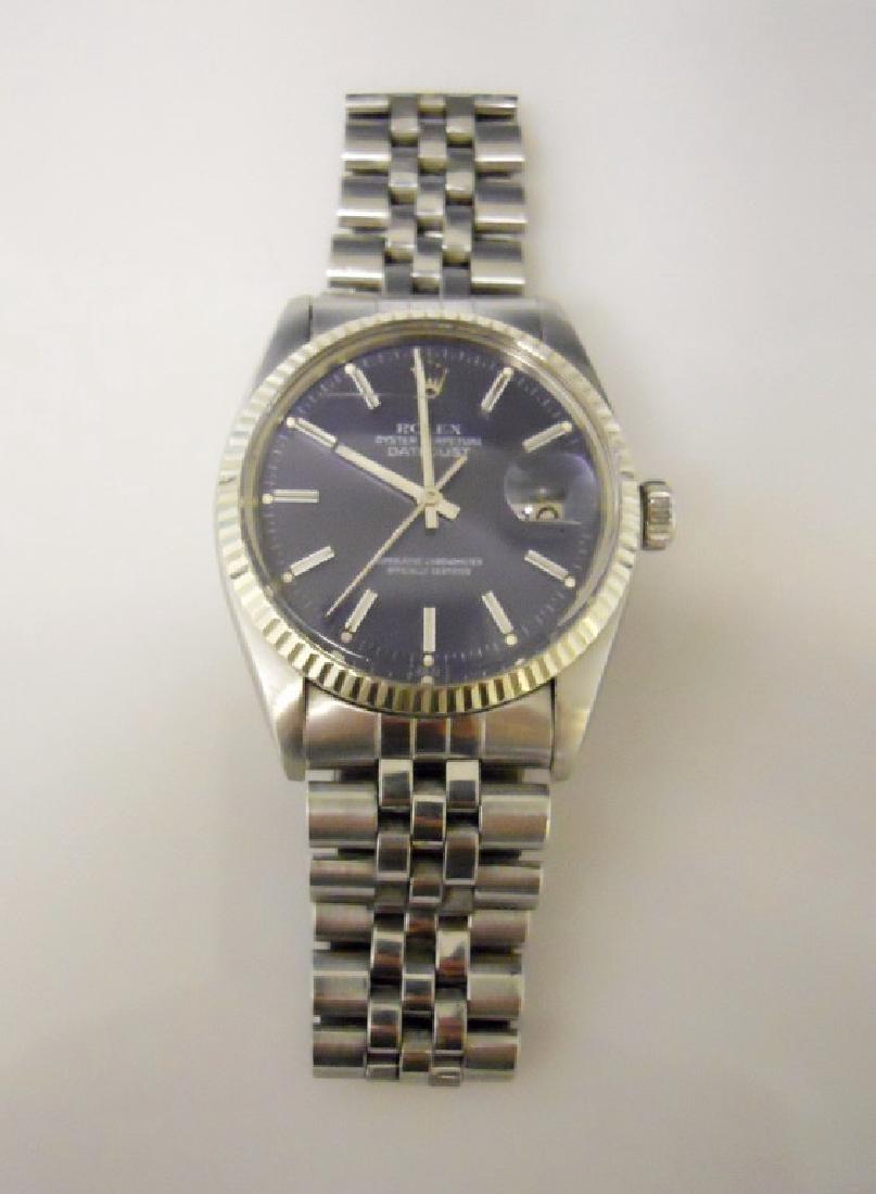 Vintage Mens Rolex Oyster Datejust Watch