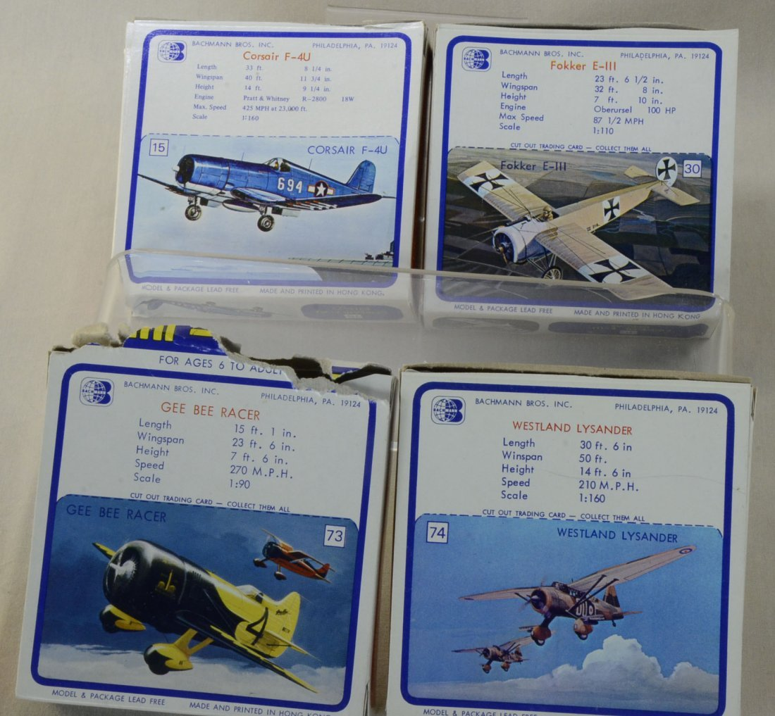 4 Bachmann Mini-Planes in Orig Boxes - 3