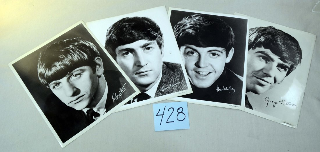 1964 Set 4 Beatles Posters by Seltaeb/Nems
