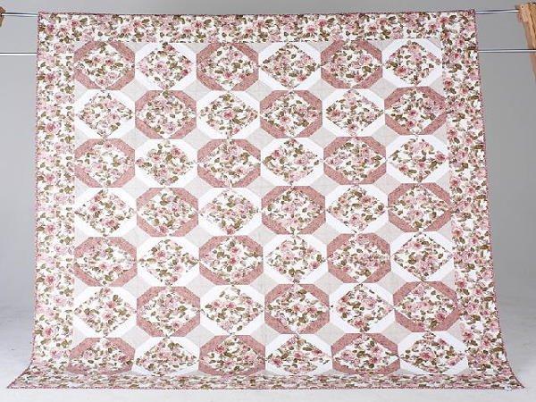 9: ROSE GARDEN full sized quilt by Madeline Hansen. Ros
