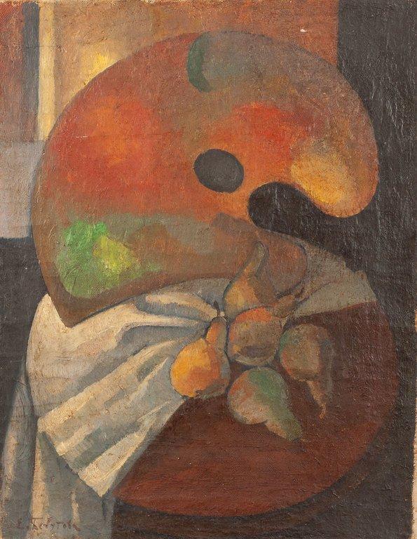 Elena Mikaeli Bebutova Kuznetsova, Painting, Still Life