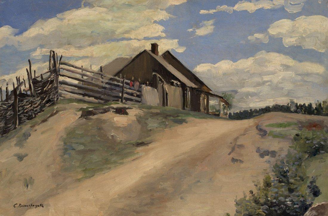 Sergey Vinogradov (1869-1938) Russia - Latvia