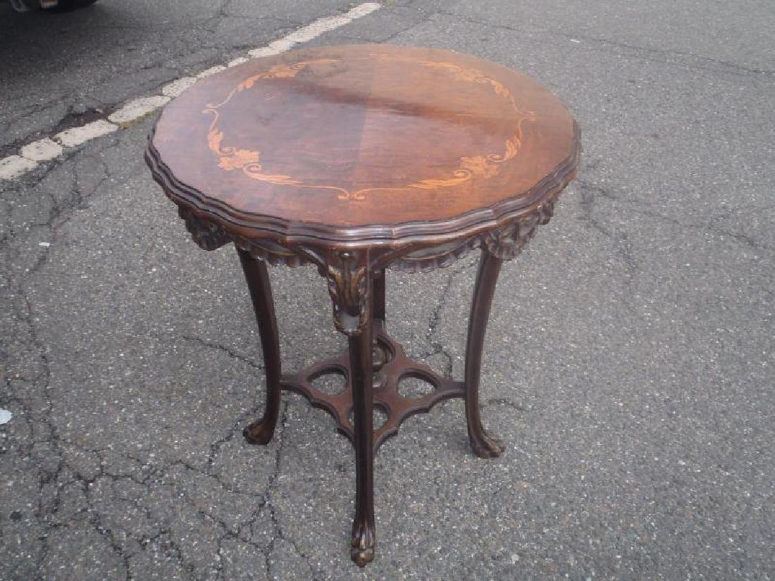 inlaid 1920 American table in the FRENCH STYLE