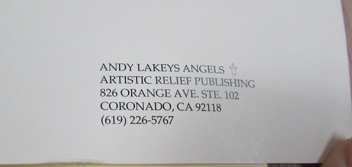 """Lithograph of,"""" My Seven Angels"""" by Andy Lakey - 5"""