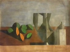 Duilio Barnabe, (Italian, 1914-1961), Still Life