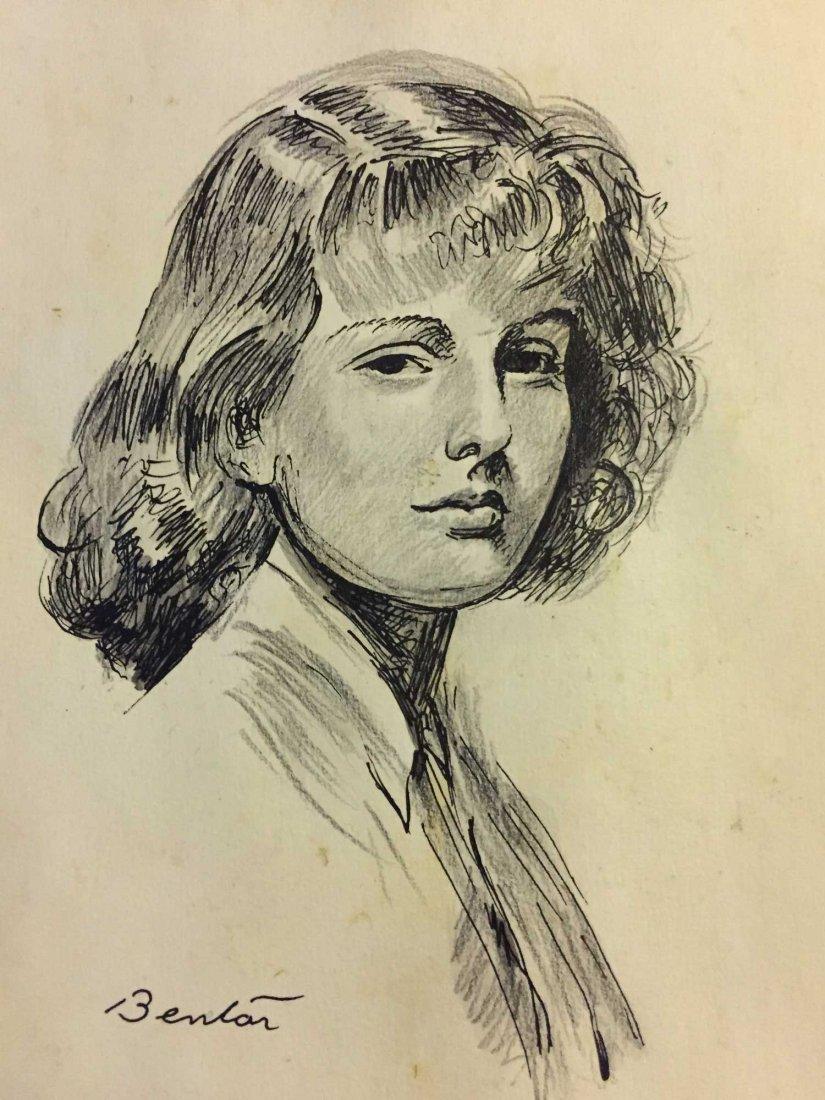 Thomas Hart Benton (American, 1889 - 1975). Mixed Media