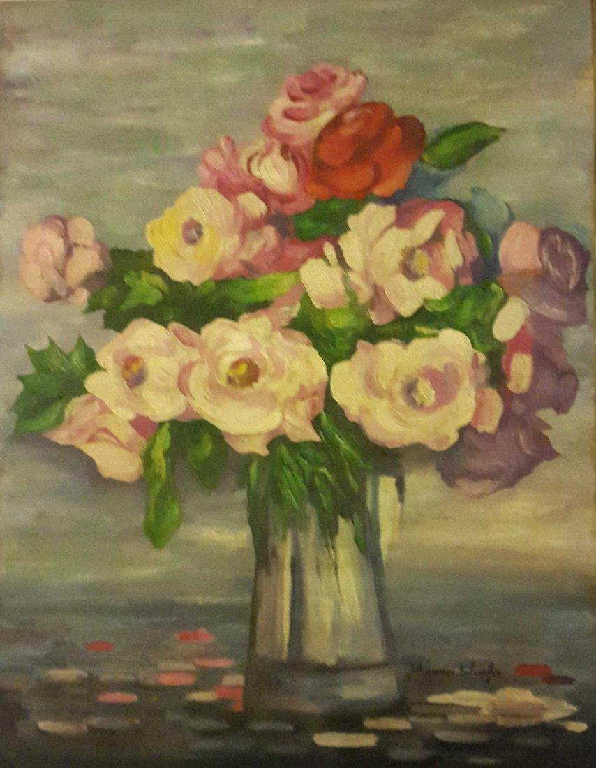 "French Impressionist JOHANNES SCHIEFER ""Still Life"""
