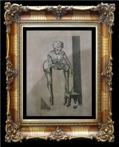 GENE BILBREW aka Eneg Original Artwork for EXOTIQUE