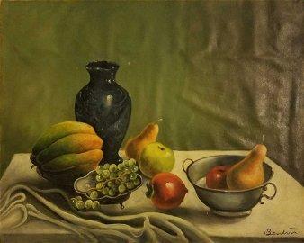 "Thomas Hart Benton (American, 1889 - 1975). ""Still Life"