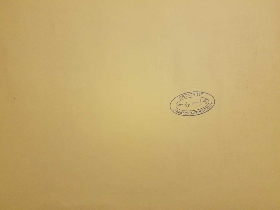 ANDY WHROL MARILYN MONROE 1967 SIGNED - 4