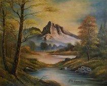 Aubrey Dale Greer (Am. 1904-1998), Texas Landscape, oil