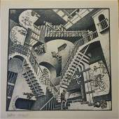 M. C. ESCHER (Dutch, 1898-1972) Signed Lithograph