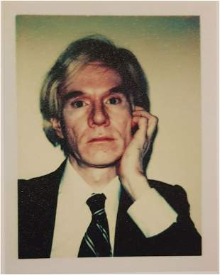 ANDY WARHOL (1928-1987) SELF PORTRAIT 1977